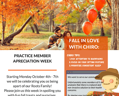 Roots Chiropractic October Newsletter Page 1 1
