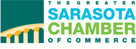 The Sarasota Chamber of commerce logo
